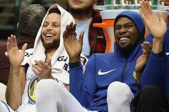 Kevin Durant Responds To Hilarious Warriors' Chase Center Meme