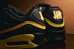 """Nike Air Max 90 x Undefeated """"Opti Yellow"""" Colorway Revealed: First Look"""
