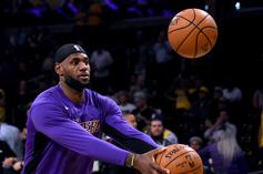 LeBron James Reacts After Evacuating Home Due To Wildfire