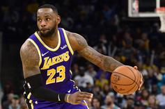 LeBron James Bigs Up His Own Chase Down Block After Huge Win