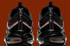 Nike Air Max 97 Releasing With Woodgrain Detailing: Official Images