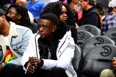 Boosie Badazz Suffers Injury Courtesy Of Warriors Player While Chilling Courtside