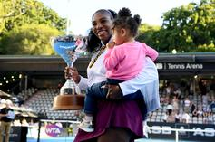 Serena Williams Wins First Title Since Giving Birth To Daughter In 2017