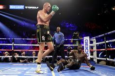 Tyson Fury Defeats Deontay Wilder In Rematch