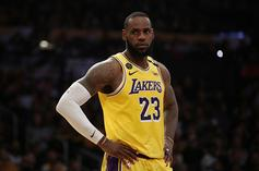 Lakers' LeBron James Snacks On Red Vines During Win: Fans React