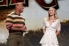 """The Rock & Emily Blunt Fight Off Jaguars In """"Jungle Cruise"""" Trailer"""
