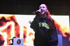 Bhad Bhabie Gets Yung Bans' Real Name Tatted On Her Leg