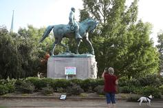 George Floyd Protests Result In Virginia Removing Confederate Robert E. Lee Statue