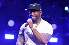 50 Cent Responds To Kanye West's Rant With Dave Chappelle Meme