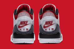 "Air Jordan 3 ""Denim Fire Red"" Officially Revealed: Release Info"