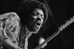 Jimi Hendrix's Guitar From Early '60s Sells For  $216,000 At Auction
