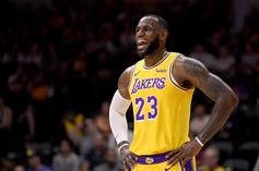 """Lebron James Reveals First Look At """"Space Jam 2"""" Tune Squad Jersey"""