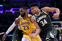 Lebron James & Giannis Selected For 2019-2020 All-NBA First Team