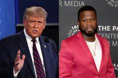 "50 Cent Reacts To Trump's Ridiculous ""YMCA"" Dance"