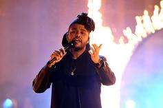 "The Weeknd's ""Blinding Lights"" Defiantly Re-Enters Top 10"
