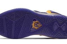 """Nike LeBron 8 """"Lakers"""" Officially Unveiled: Photos"""