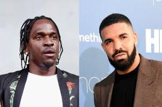 """Pharrell Williams Claims Pusha T Compliments Drake's Bars """"All The Time"""""""