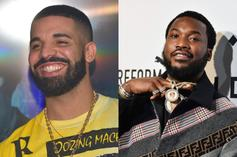 """Drake, Meek Mill, & Lil Baby Gamble At A """"Goat Get Together"""""""