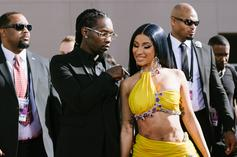Offset Leaves Fans Wishing They Were Him After Revealing IG Post With Cardi B