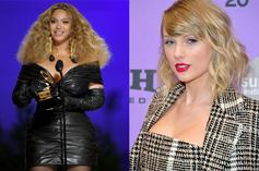 Beyoncé Sends Flowers Over To Taylor Swift To Congratulate Grammys Wins