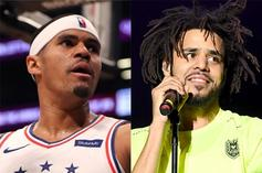 Tobias Harris Forced To Recite J. Cole Lyrics In Awkward Post-Game Interview