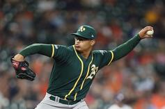 A's Pitcher Jesus Luzardo Out Indefinitely After Hitting Hand While Playing Video Games