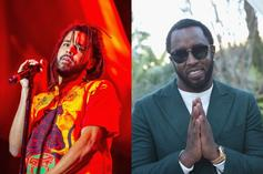 """J. Cole Reflects On Fighting Diddy On """"Let Go My Hand"""""""