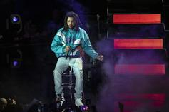 J. Cole Posts Respectable Stat Line In First BAL Game