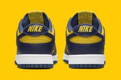 """Nike Dunk Low """"Michigan"""" Drops Soon: Official Images"""