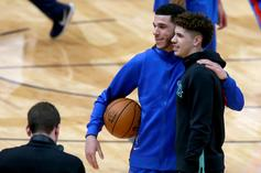 Lonzo Ball Reacts To LaMelo's Rookie Of The Year Honor