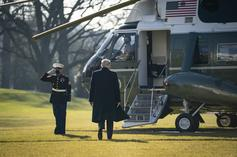 Donald Trump Puts Custom Helicopter With Leather & Gold Interior Up For Sale