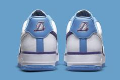 """Nike Air Force 1 Low """"Lakers"""" Officially Unveiled: Photos"""