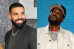 """Drake Sends Kind Message To Meek Mill After """"Expensive Pain"""" Release"""