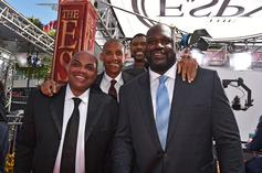 """Shaq & Charles Barkley Get Up To Hilarious Antics Over """"Beyond Meat"""""""