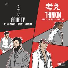 """Future Links Up With Bad Bunny & Anuel AA On Spiff TV's """"Thinkin"""