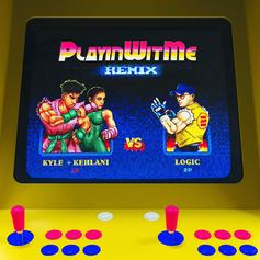 """KYLE Grabs Logic For The """"Playinwitme (Remix)"""""""