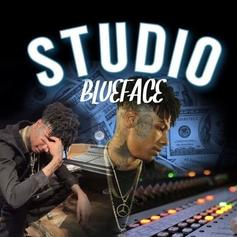 """Blueface Stays Locked In The """"Studio"""" On His New Track"""