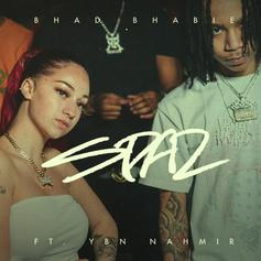 "Bhad Bhabie Returns With YBN Nahmir For ""Spaz"""