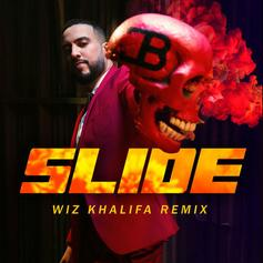 """French Montana Calls On Wiz Khalifa For """"Slide (Remix)"""" With Blueface & Lil Tjay"""