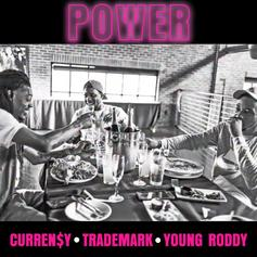 "Curren$y, Trademark Da Skydiver & Young Roddy Release Third Single ""Power"" Via Babygrande Records"