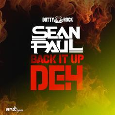 """Sean Paul Lights Up The Room On """"Back It Up Deh"""""""