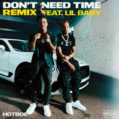 """Lil Baby Comes Through For Hotboii's """"Don't Need Time"""" Remix"""