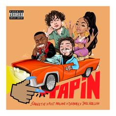 "Saweetie Enlists DaBaby, Jack Harlow, & Post Malone For ""Tap In"" Remix"