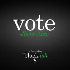 "Jhene Aiko Wants You To ""Vote"""