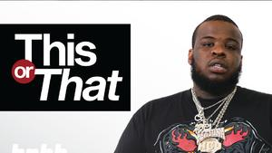 """Maxo Kream Chooses Between Weed & Booze, Drake & Weezy, And More On """"This Or That"""""""