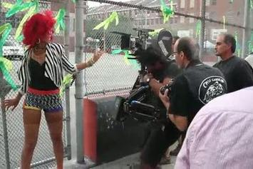 """Rihanna Feat. Drake """"Behind The Scenes: """"What's My Name"""" Video Shoot"""" Video"""