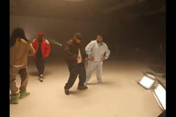 "DJ Khaled ""Behind the Scenes of ""Welcome To My Hood"" Video Shoot"" Video"
