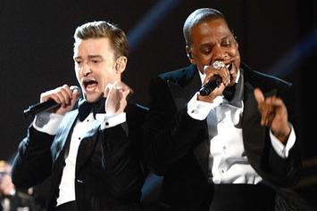 Performances From Wiz Khalifa, Miguel, Rihanna, Justin Timberlake, Frank Ocean & More At Grammys