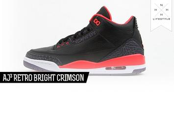Air Jordan 3 - Retro Bright Crimson