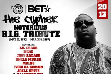 "BET & Hot 97 Present: ""The Notorious B.I.G. Tribute Cypher"""